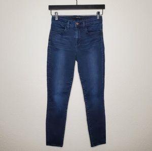 J Brand Maria High Rise Skinny Jeans in Atmosphere